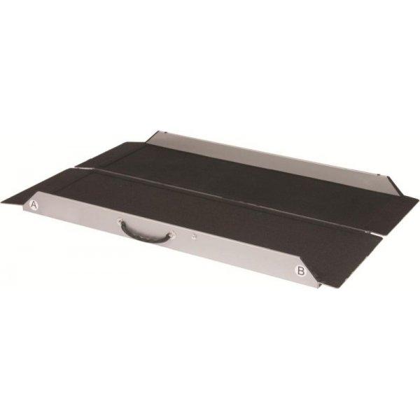 faltbare mobile rampe tragbar in 4 l ngen. Black Bedroom Furniture Sets. Home Design Ideas