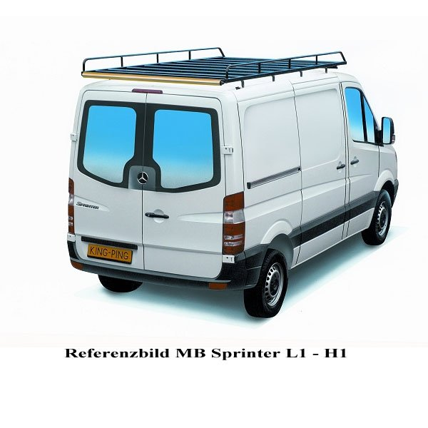 14 Ford Transit Custom L1 270 Swb: Dachträger Für Mercedes Sprinter Und VW Crafter L1