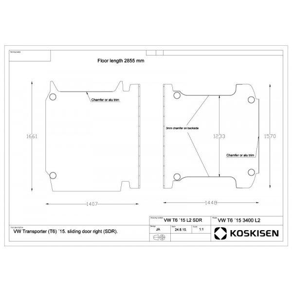 transporterboden f r vw t5 l2 lang. Black Bedroom Furniture Sets. Home Design Ideas