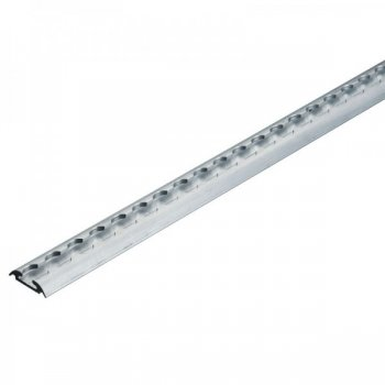 Airlineschiene halbrund - 1 Meter - light