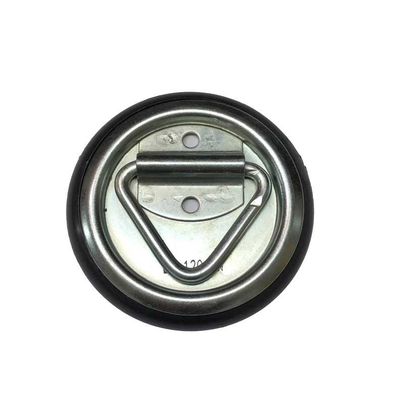 runde Zurrmulde für Aufbau auf der Bodenplatte